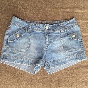 Bingo Denim Shorts 13 Junior Stretch Jeans